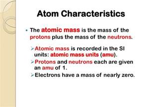Characteristics Of Protons Structure Of An Atom Ppt Cscope
