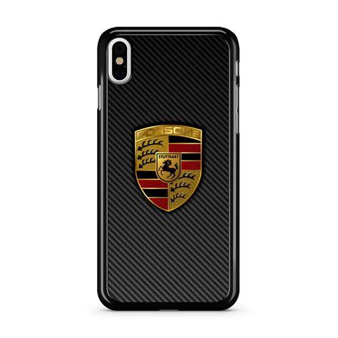 Porsche Iphone H Lle by Carbon Porsche Logo Iphone X Caseshunter