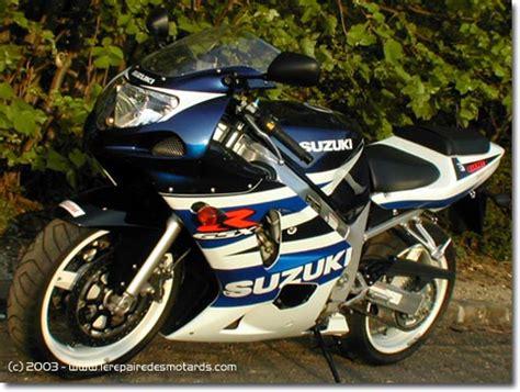 Suzuki Microfiche Essai Moto Suzuki Gsx R 600