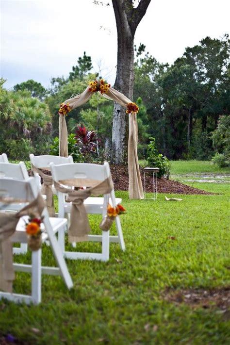 backyard ceremony 17 best ideas about backyard wedding ceremonies on