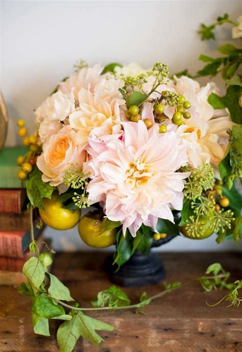 Yellow Peach Wedding Centerpieces   Fab Mood   Wedding
