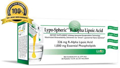 r ala supplement lypo spheric r alpha lipoic acid liposomal r ala