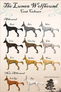 wolfhound colors the lumen wolfhound coat colours by malexbus on deviantart