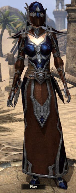 light armor eso elder scrolls dunmer shadowspun eso fashion