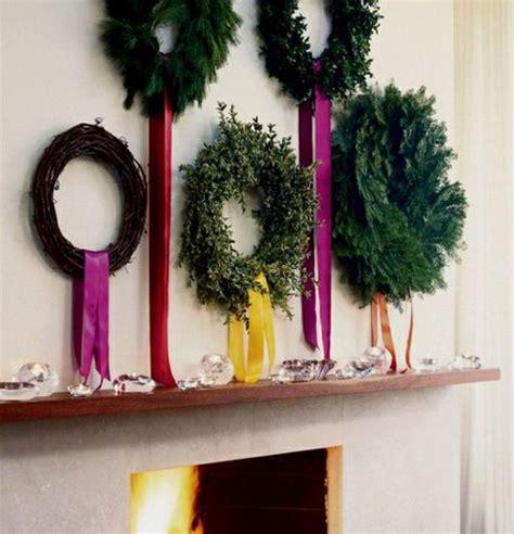 ghirlande natalizie per camino tante idee e consigli per utilizzare le vecchie ghirlande