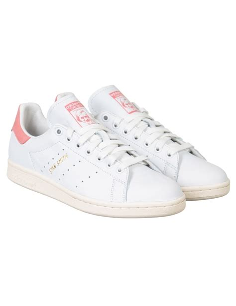 Original Adidas Stan Smith Pink adidas originals stan smith shoes white pink trainers from buddha store uk