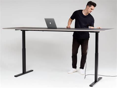automatic height adjustable desk nexera ambiance computer desk hutch buy office furniture