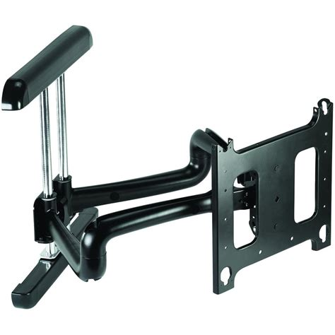 swinging wall mount for tv chief pdrub or pdrus large swing arm tv wall mount 37