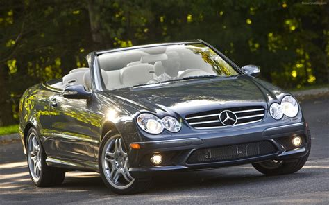 Mercedes Clk 550 by 2009 Mercedes Clk550 Cabriolet Widescreen Car