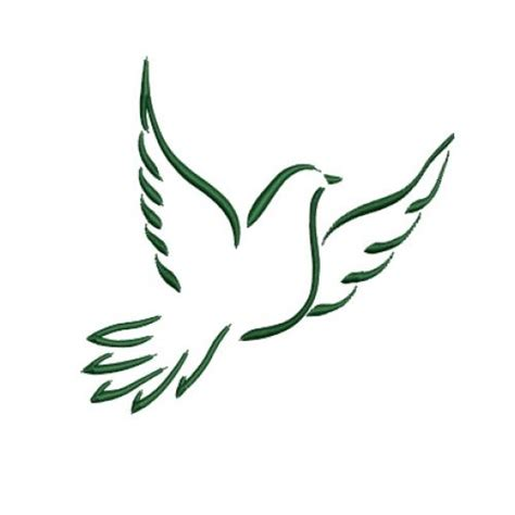 holy spirit dove tattoo designs dove outline banners beautiful design and
