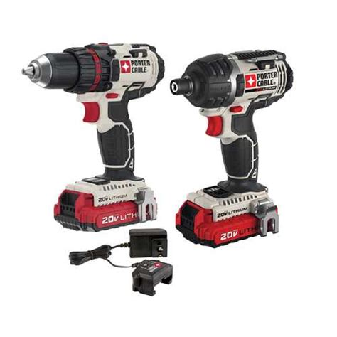 H L Hl13re Impact Drill porter cable product details for 20v max 2 tool combo kit