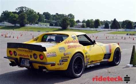 hour corvette new ridetech bracket gives c2 c3 corvettes an edge