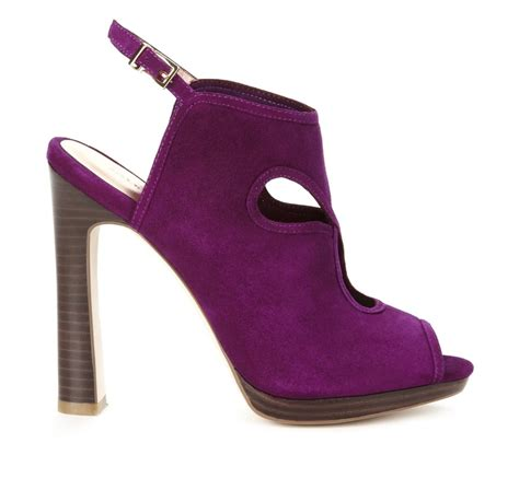 Purple And Lilac Leather Flower Embellished Suede Peep Toes At Debenhams by 285 Best Purple Just Purple Images On