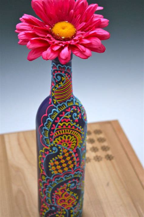 Vase Designs Painting by 25 Best Ideas About Bottle Vase On Painted