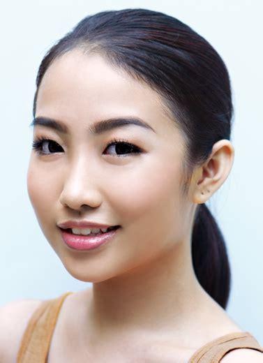 tutorial alis mata untuk wajah bulat alis untuk wajah bulat dan mata sendu