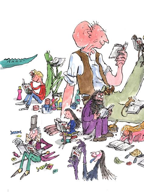 quentin blake in the the gallery for gt quentin blake illustrations roald dahl