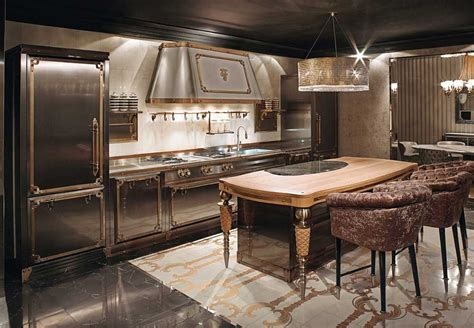 Victorian Kitchen Furniture by Victorian Kitchen By Alessandro La Spada For Visionnaire