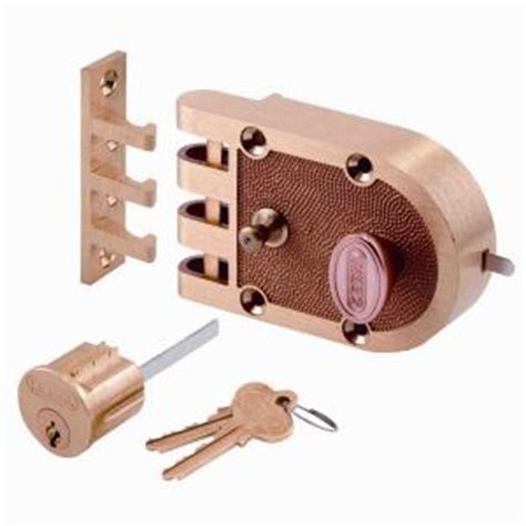 prime line single cylinder brass slam lock se 14326 the