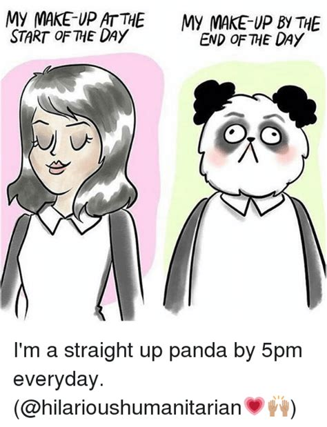 Panda Meme Mascara - panda without makeup meme mugeek vidalondon