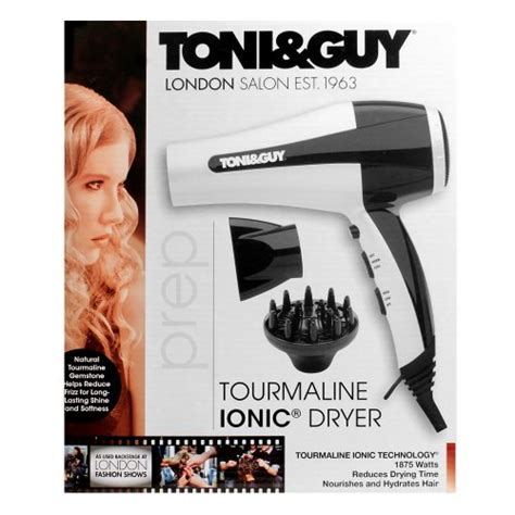 Toni And Hair Dryer Attachments by Toni Professional Hair Dryer Black White 1875 Watt