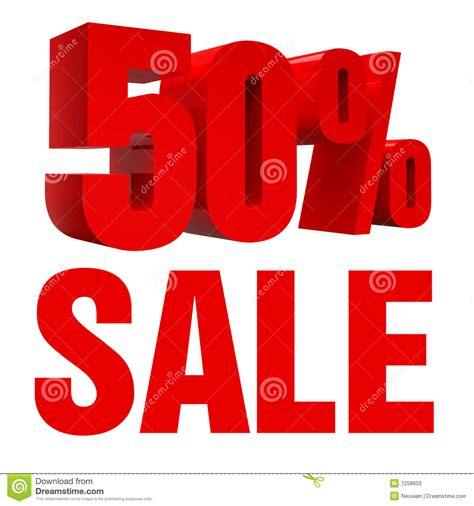 Sale All sale 50 icon stock illustration image of financial object 7258603