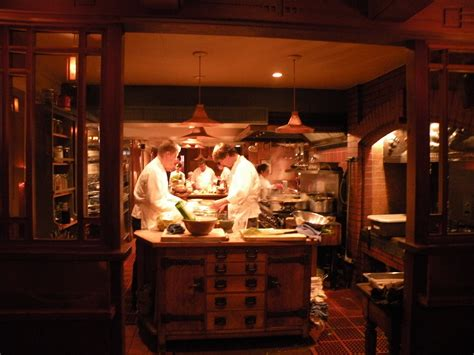 Homey Feeling by Chefs At Chez Panisse Prepare Meals For Dinner Photo By