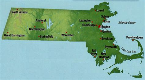 Free Address Lookup Ma Massachusetts State Maps Interactive Massachusetts State Road Maps State Maps
