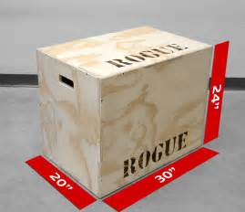 plyo box template flat pack box rogue fitness