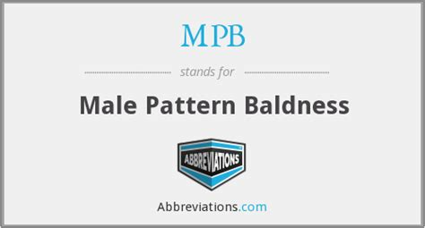 Male Pattern Baldness Meaning In Tamil | mpb male pattern baldness
