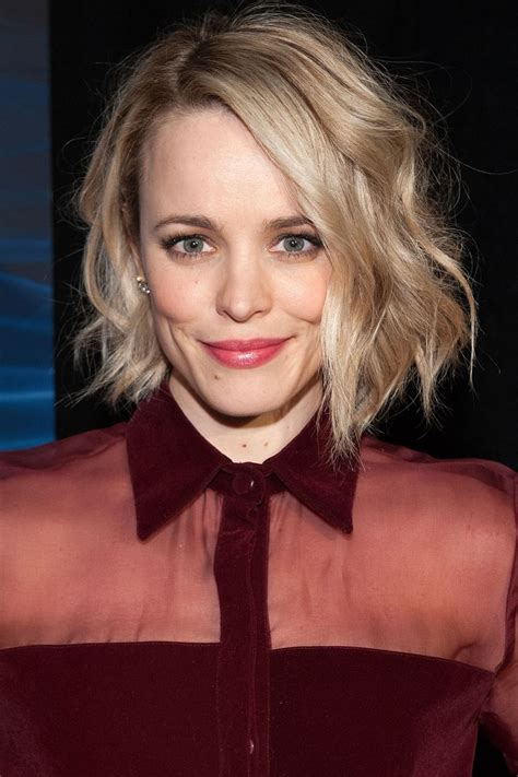 how to achieve the new haircut the lob the 50 best celebrity bob lob haircuts rachel mcadams