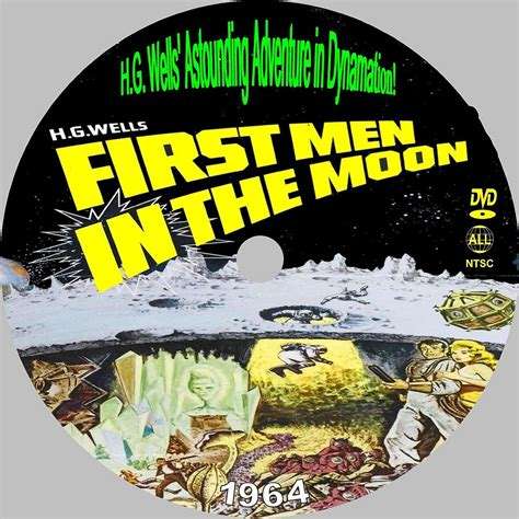the first men in first men in the moon custom dvd labels label 126 dvd covers