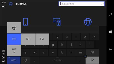 windows 10 keyboard layout login screen how to change keyboard size layout in windows 10 mobile