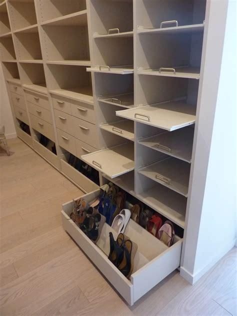 tiroir dressing mco productions rangement dressing placard meuble