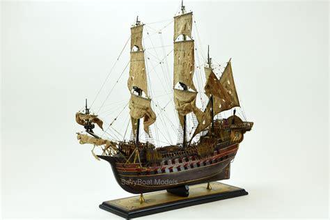 Handmade Ships - jolly roger pirate ship 30 quot handmade wooden ship model