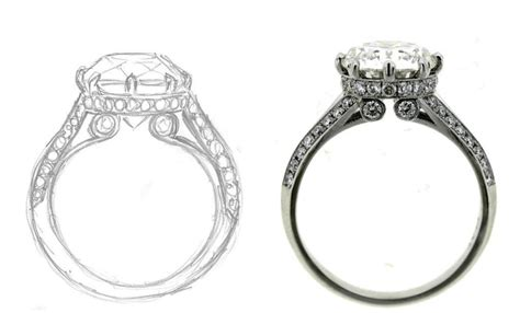 Drawing O Ring Solidworks by Do You Need A Cad For Your Custom Engagement Ring