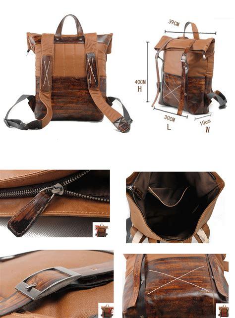 mochila de cuero para hombre ruavintage tienda de bolsos de hombre y mujer