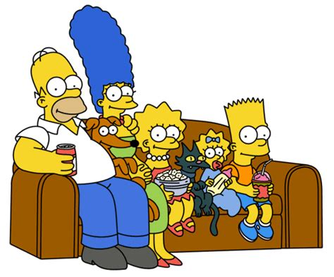 simpsons sofa vanity fair on the simpsons family values