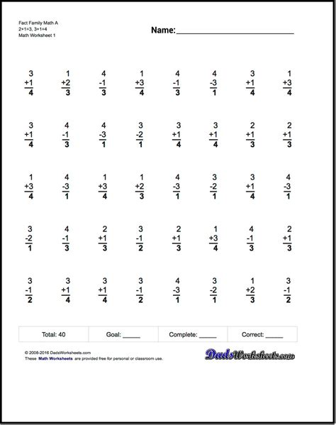 Free Fact Family Worksheets by Math Worksheets Free Chapter 2 Worksheet Mogenk Paper Works