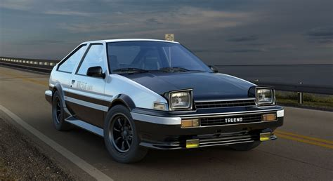 Toyota Sprinter Trueno Ae86 Toyota Sprinter Trueno Ae86 Initial D Edition By Mixjoe On
