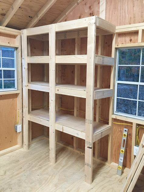 Metal Shed Shelving by 25 Best Shed Shelving Ideas On Tool Shed