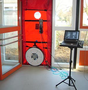 Blower Door Testing by Blower Door Testing