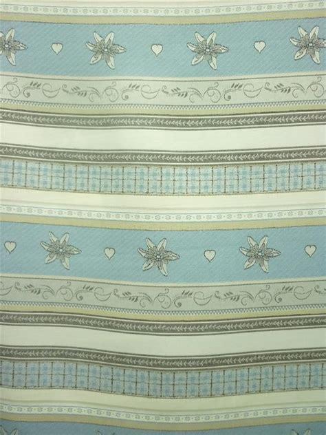 gardinen blau beige deko stoffe gardine vorhang landhaus querstreifen m