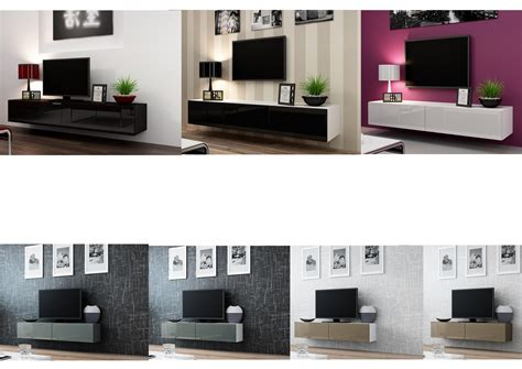 Cabinet Tv 180cm high gloss tv stand entertainment cabinet 140cm or 180cm