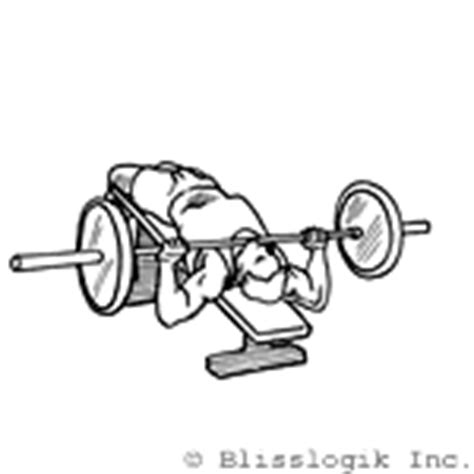 bench press to neck barbell exercises for the chest barbell exercises com