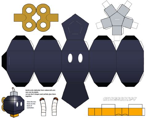 Template Papercraft - papercraft templates guidance