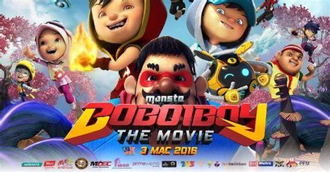 film indonesia tayang april 2016 film boboiboy the movie tayang 13 april 2016 film