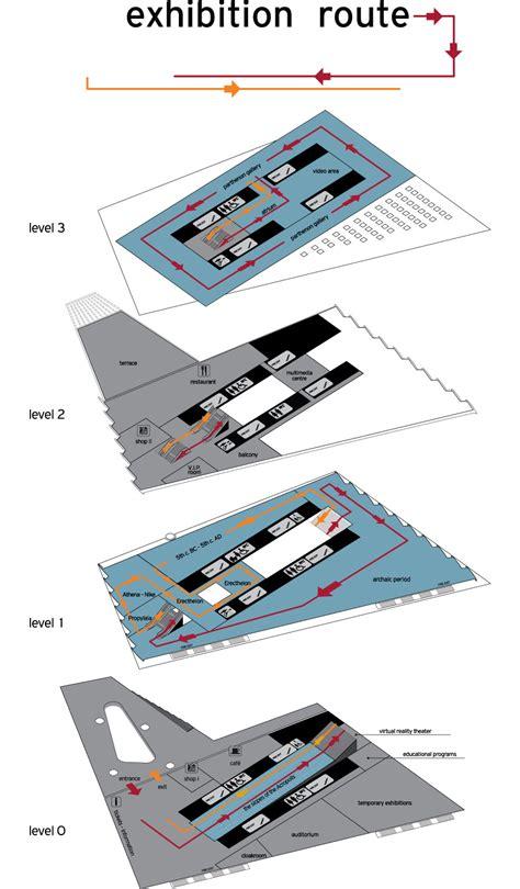 Museum Floor Plan Dwg museum floor plan acropolis museum