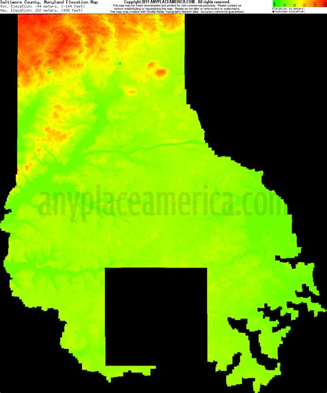 maryland map elevation free baltimore county maryland topo maps elevations