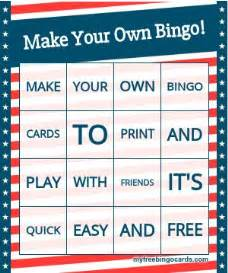 free make your own cards 25 best ideas about bingo card generator on