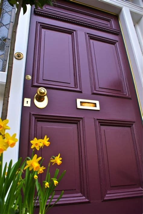 25 best ideas about colored front doors on exterior door colors painting front